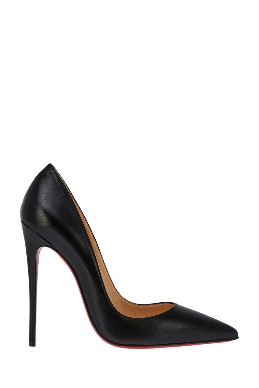 Christian Louboutin Черные кожаные туфли So Kate 120 туфли christian louboutin 5300kd cl ss15 iriza 7cm