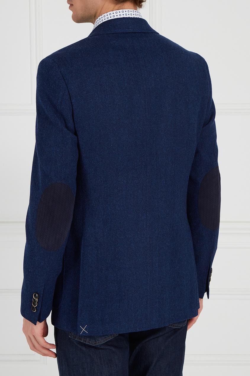 Canali Синий шерстяной пиджак fashion men jacket thick full sleeve hooded lightweight jackets casual autumn clothing for men