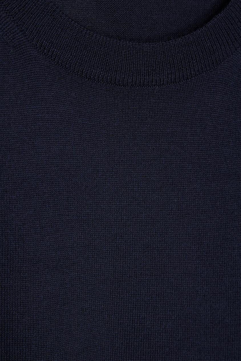 Canali Синий шерстяной джемпер джемпер quiksilver panuku navy blazer