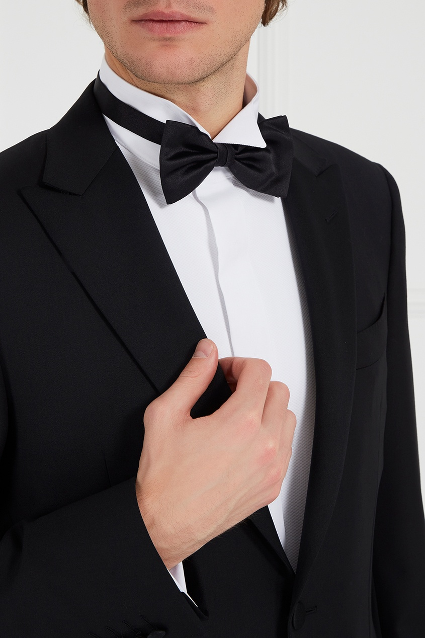Canali Шелковый галстук-бабочка