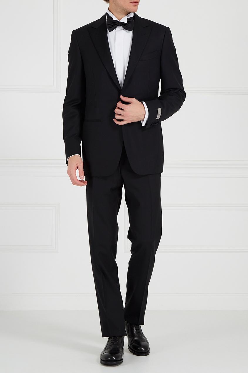 Canali Черные кожаные оксфорды ботинки оксфорды кожаные prangley walk