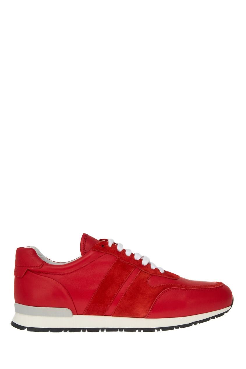 мужские кроссовки canali, красные