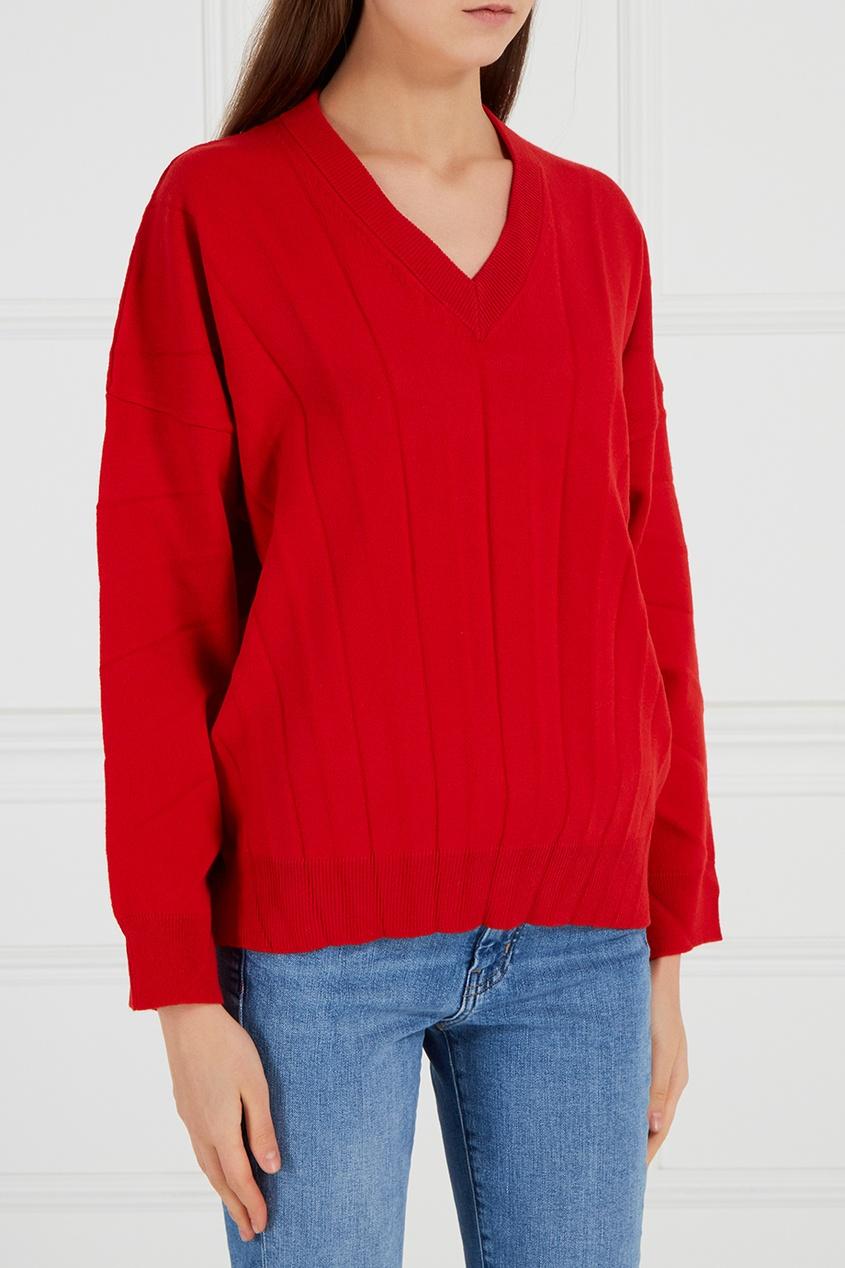 Balenciaga Пуловер из плиссированной шерсти balenciaga шерстяной пуловер