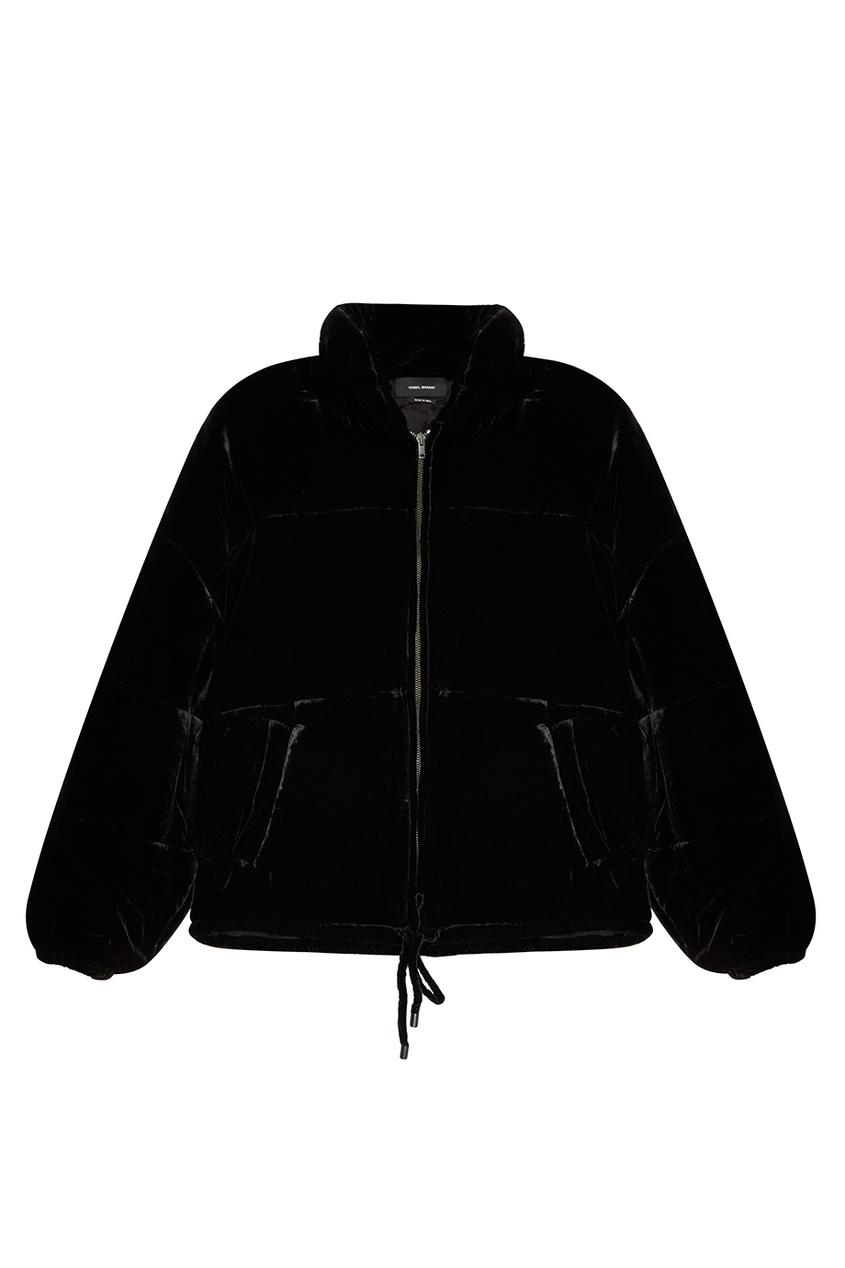 Isabel Marant Бомбер из черного бархата бомбер printio мода 2017