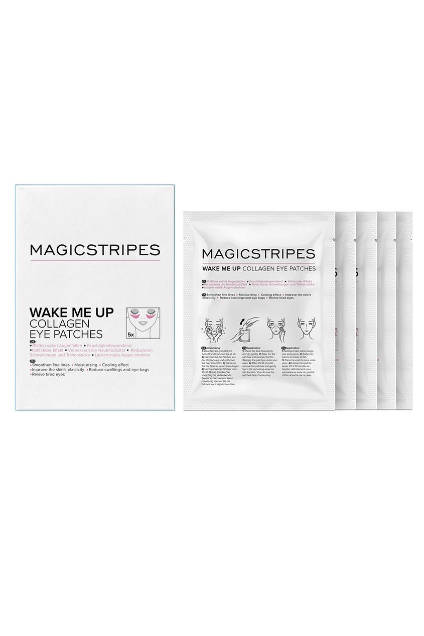 MAGICSTRIPES Коллагеновые охлаждающие патчи под глаза Wake Me Up Collagen Eye Patches, 5 пар недорого