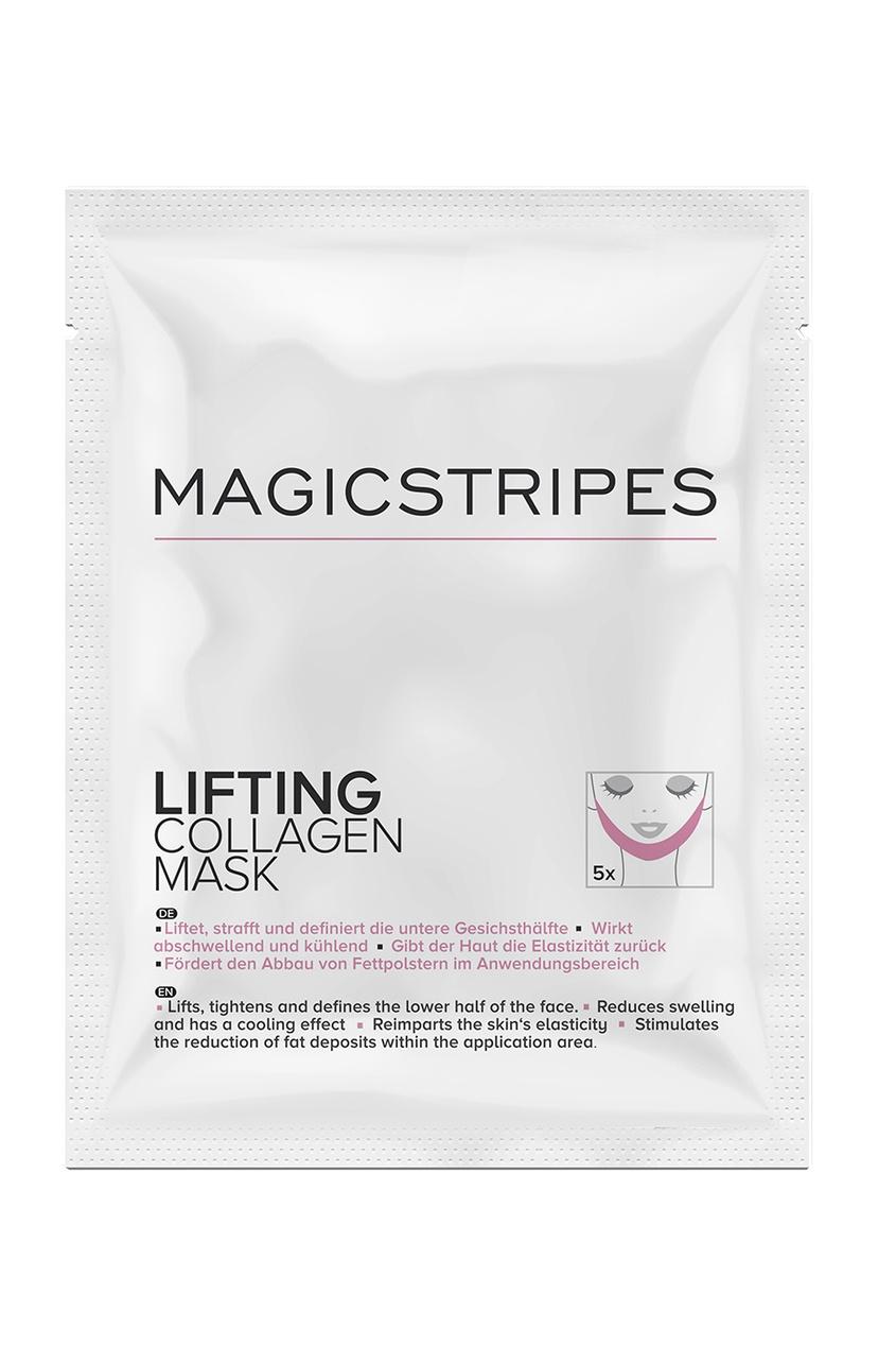 MAGICSTRIPES Коллагеновая лифтинг-маска Lifting Collagen Mask, 5 шт. 2n лица терапии света волокна ngan v 18 v фильм вешалки бинт kit лифтинг укрепляющий лицо и пластиковой красоты маска для лица