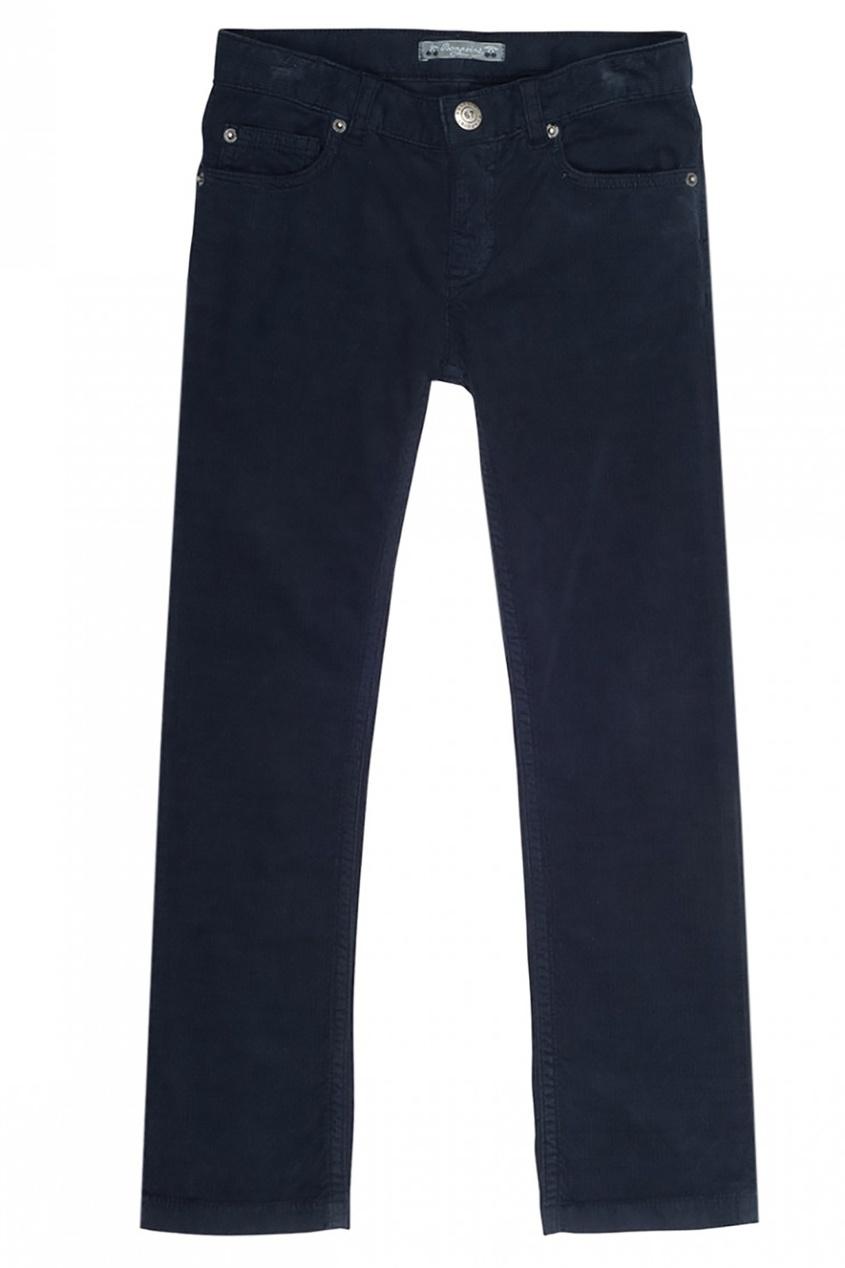 Bonpoint Синие брюки в рубчик Dylan
