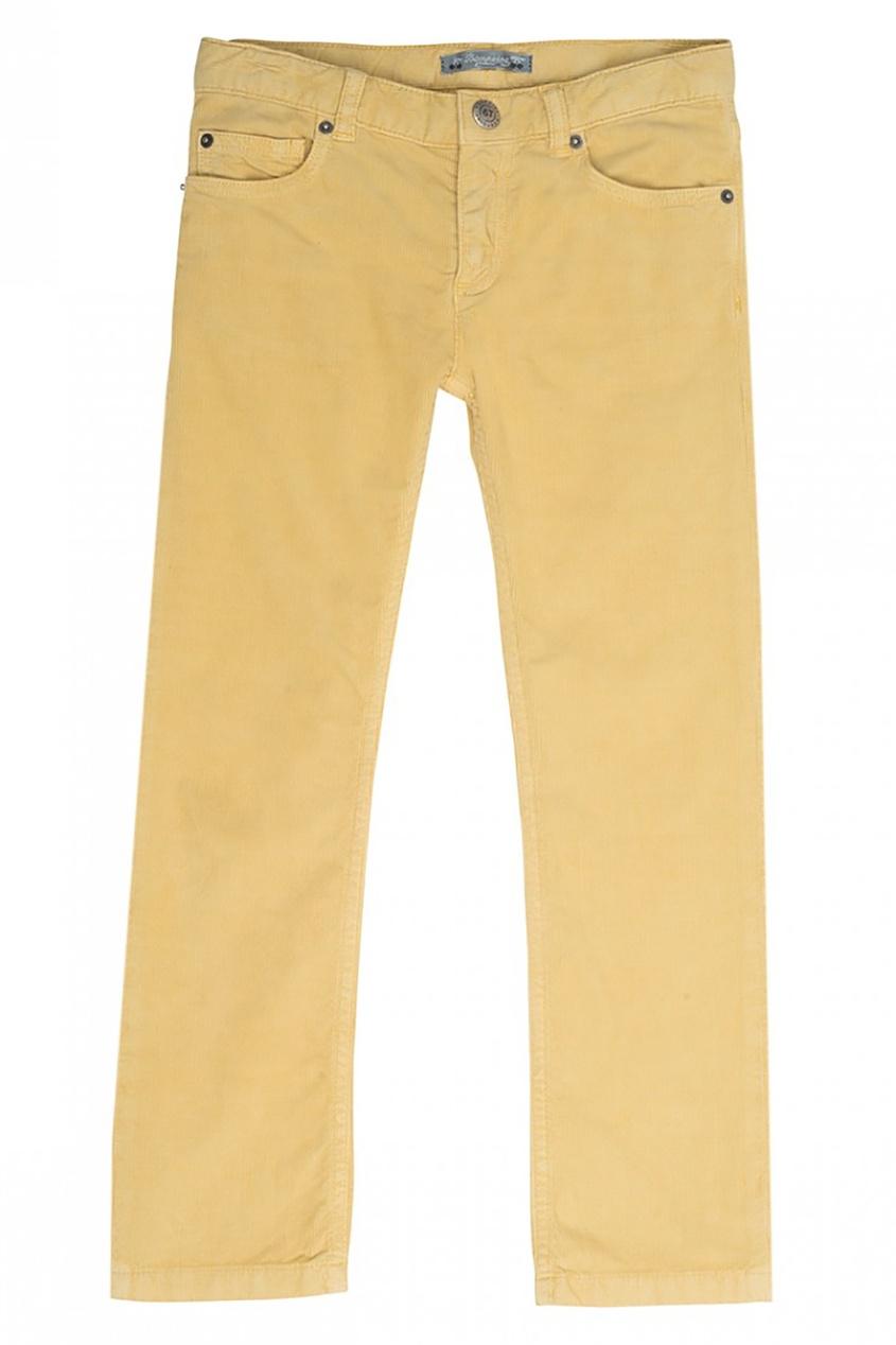 Bonpoint Желтые брюки в рубчик Dylan