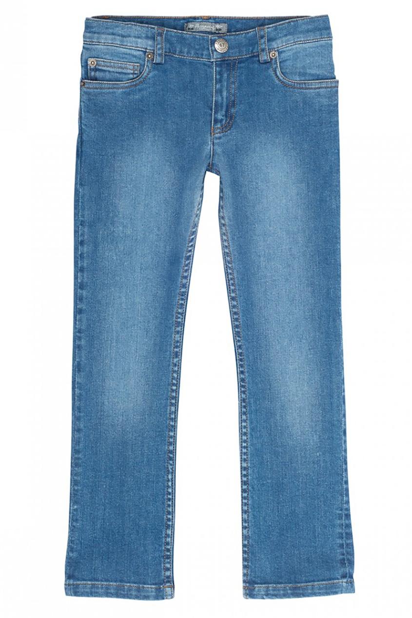 Bonpoint Синие джинсы с потертостями Dylan