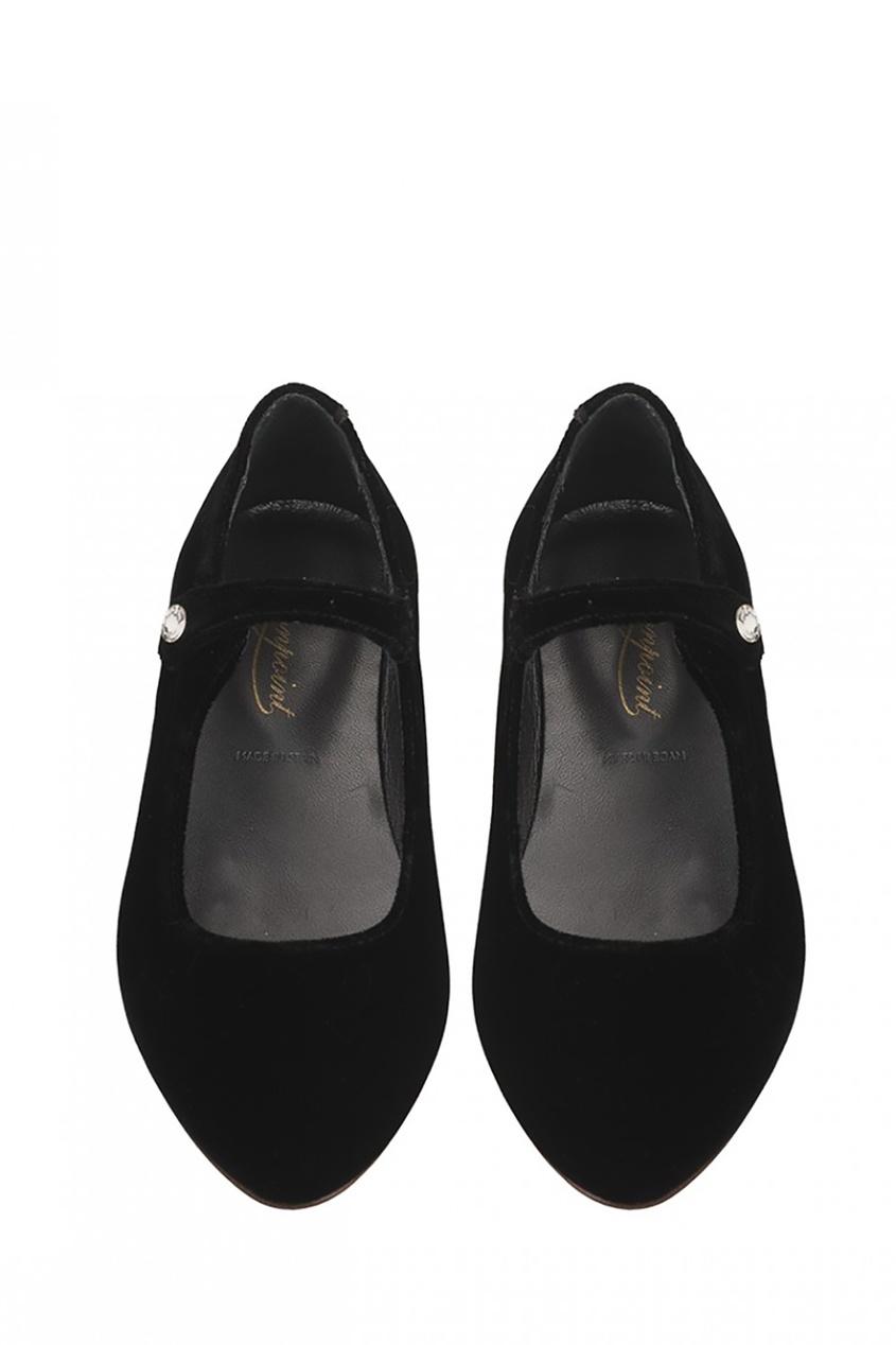 Bonpoint Фактурные туфли из кожиBelinda