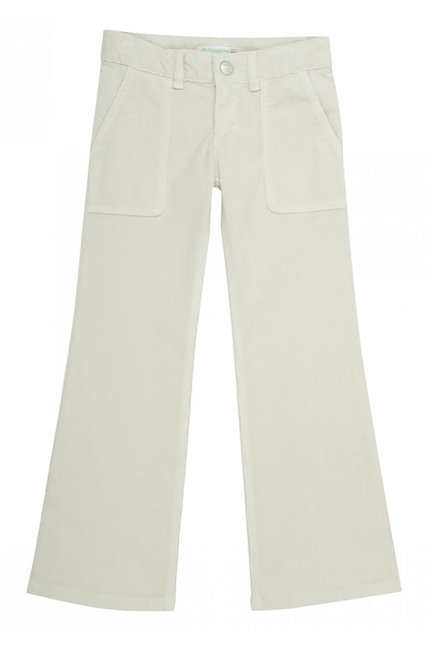 Расклешенные брюки в рубчик  File