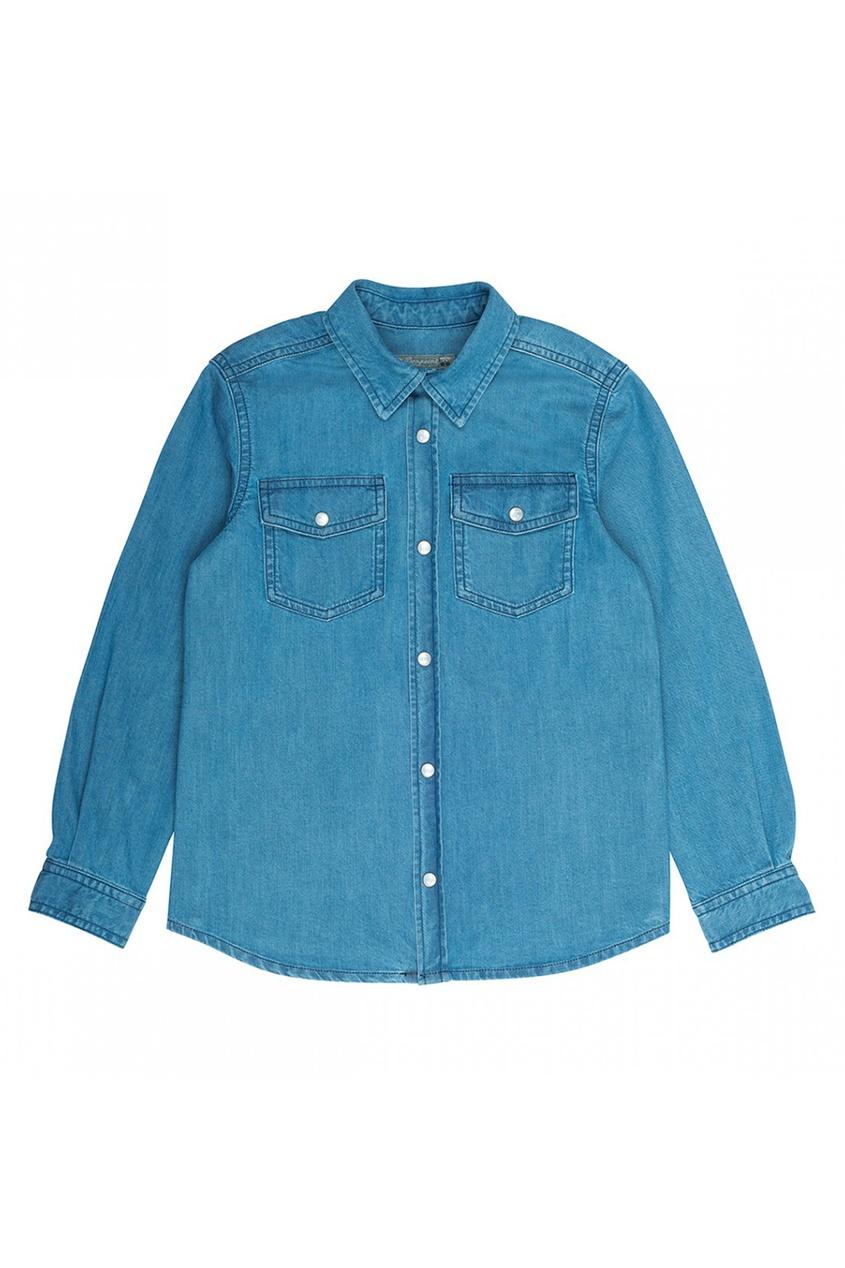 цена Bonpoint Джинсовая рубашка Elorado онлайн в 2017 году