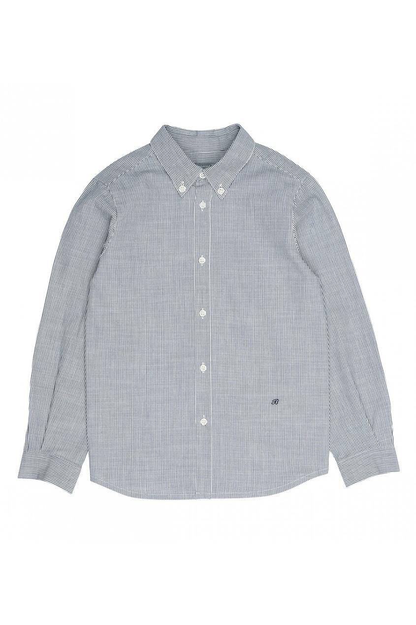 Полосатая хлопковая рубашка Fabian