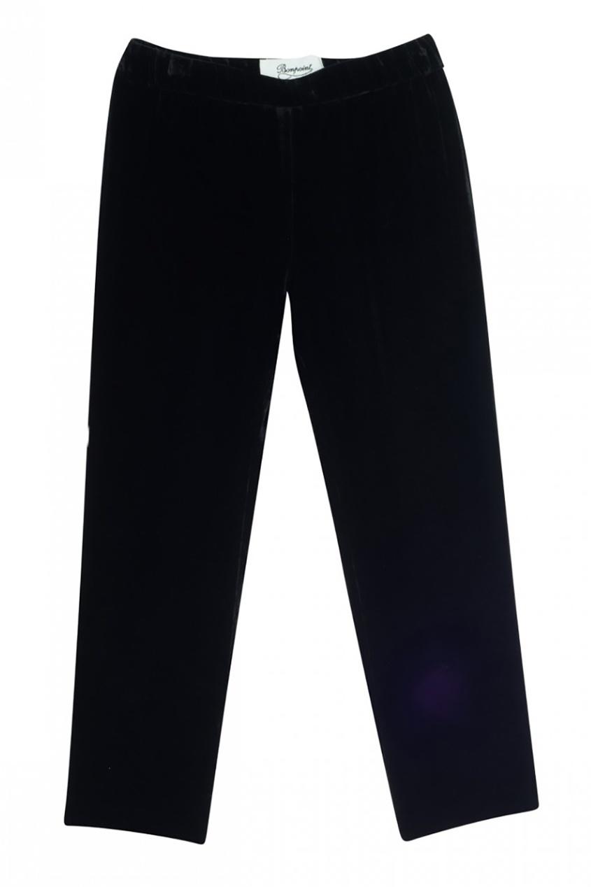 Черные вельветовые брюки Fanfare