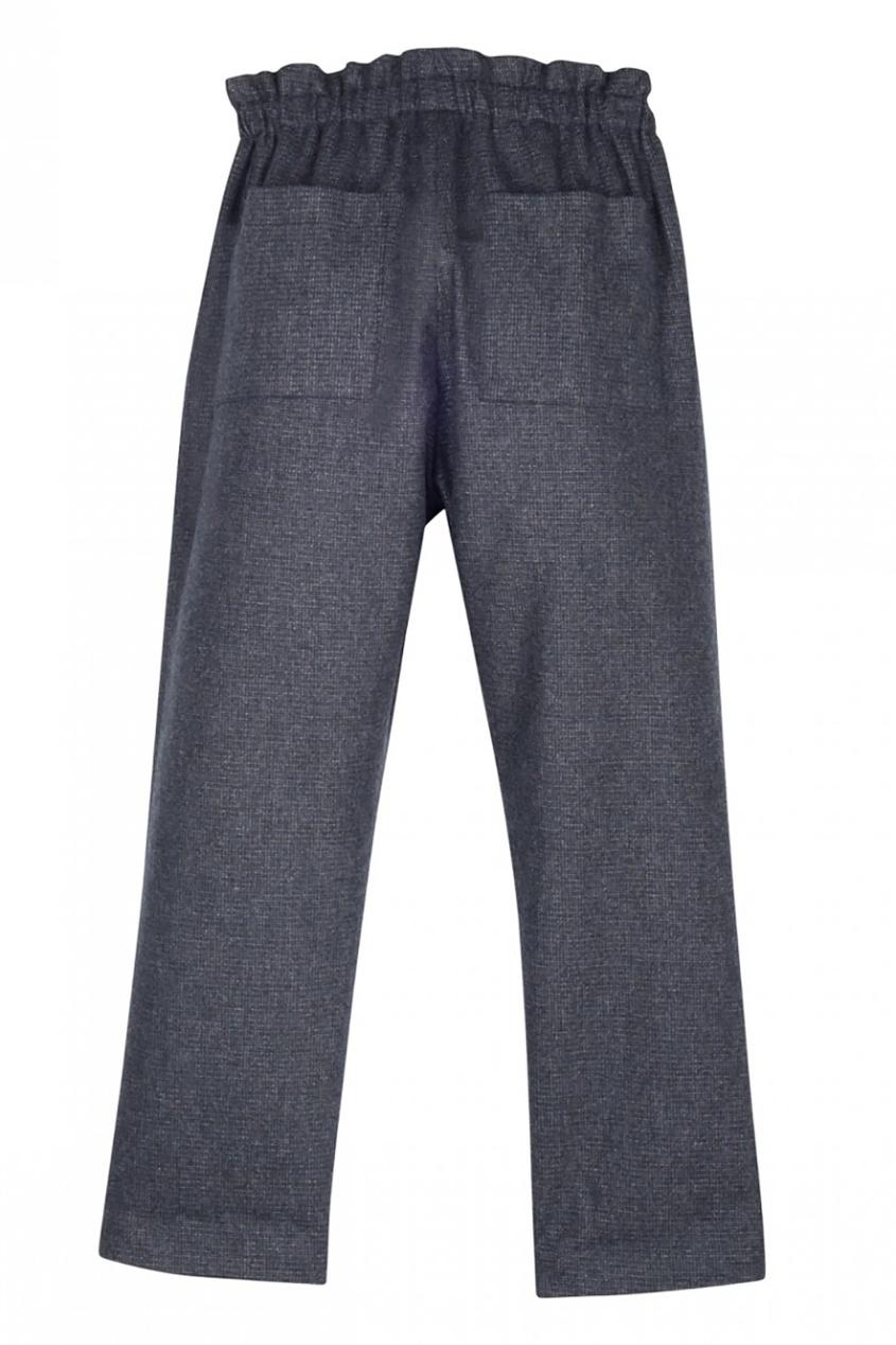 Bonpoint Однотонные брюки прямые широкие женские зимние брюки