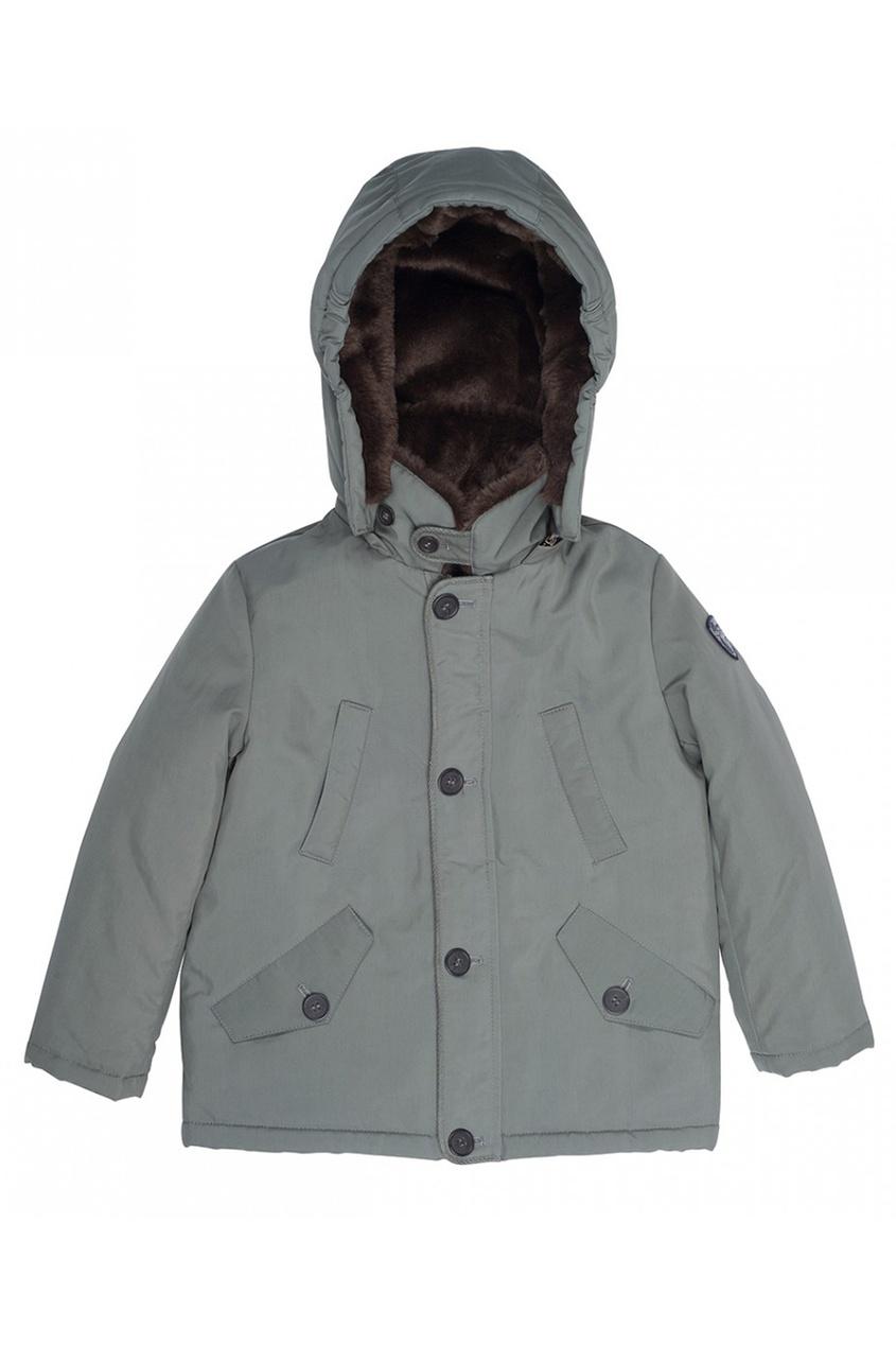 Куртка со съемной отделкой