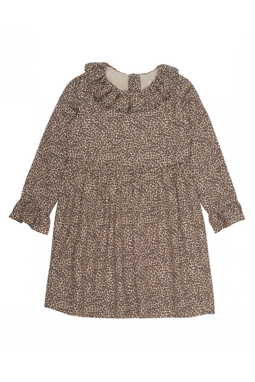 Купить со скидкой Платье с леопардовым принтом