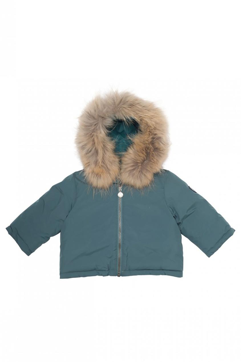 Купить со скидкой Короткая куртка с мехом