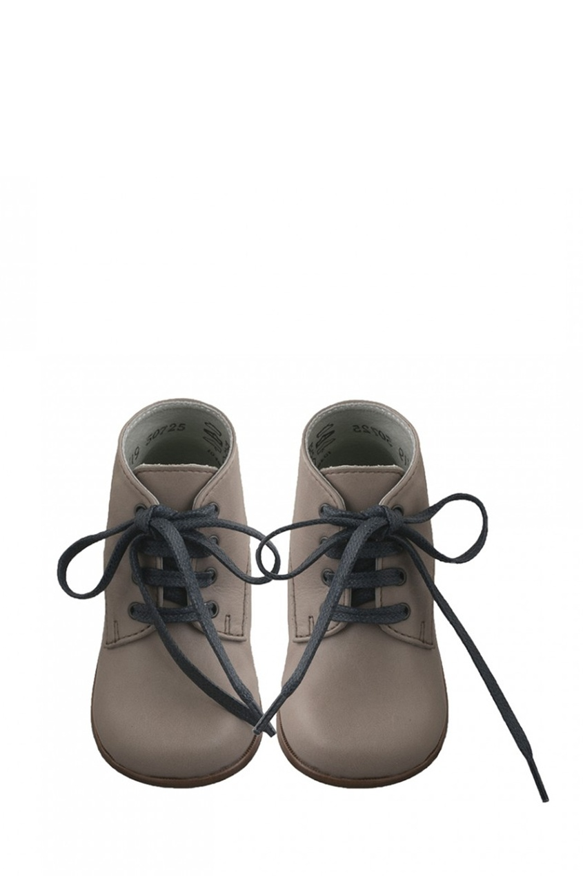 Bonpoint Кожаные ботинки на шнуровке ботинки кожаные с кисточками