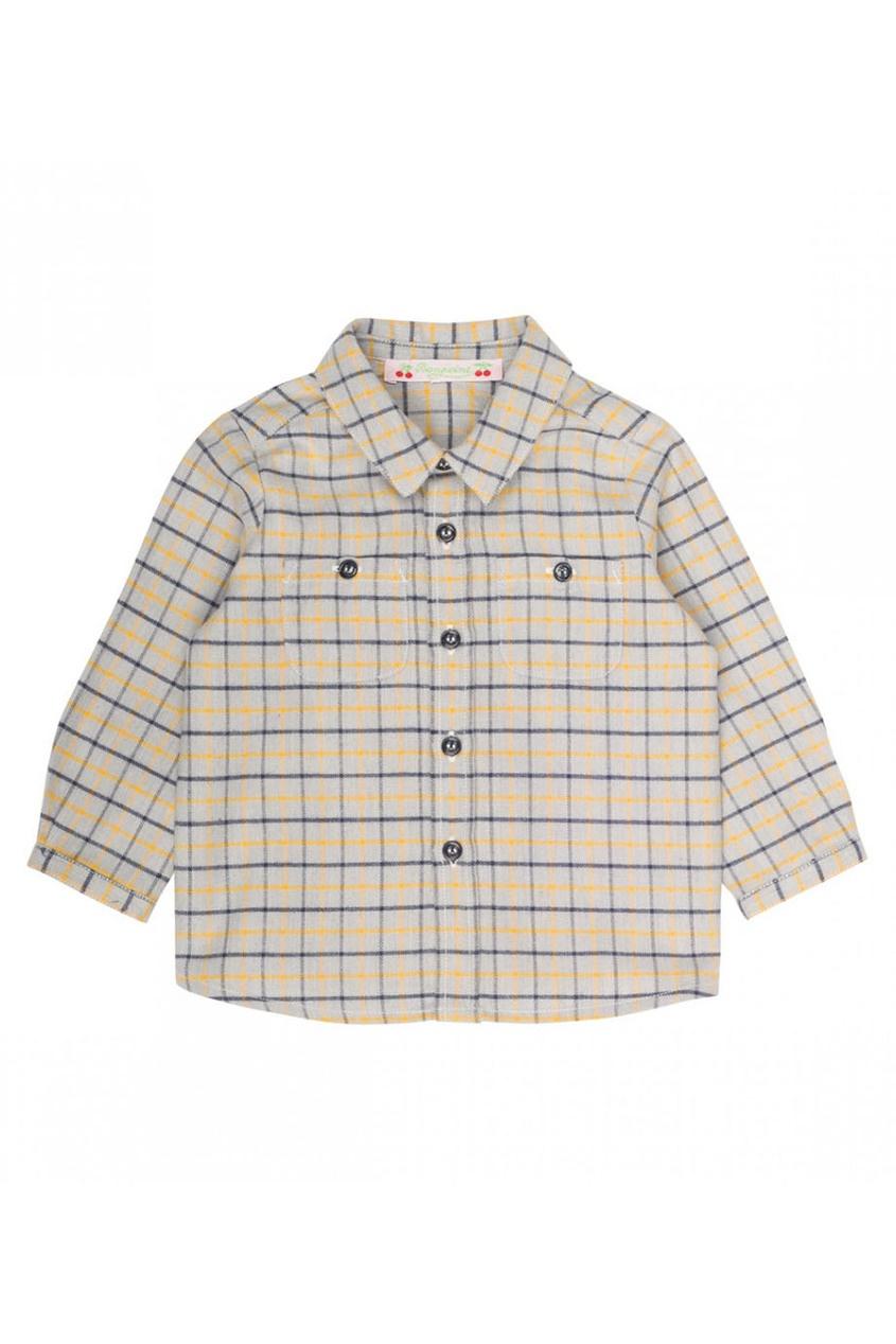 Рубашка с цветной клеткой