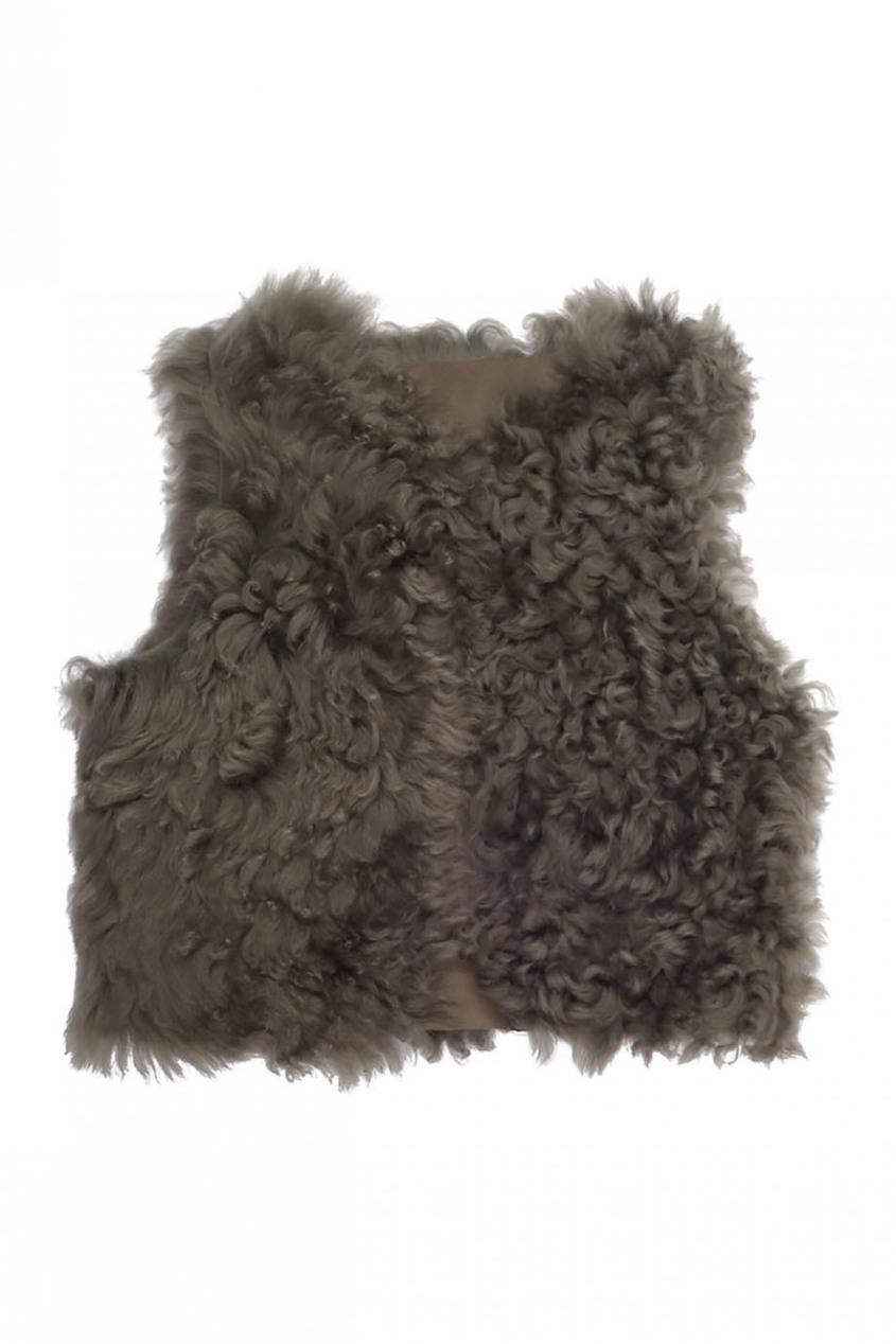 Bonpoint Меховая жилетка меховая жилетка из овчины