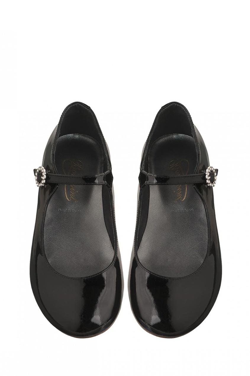 Bonpoint Черные туфли Princes bonpoint блестящие туфли bella