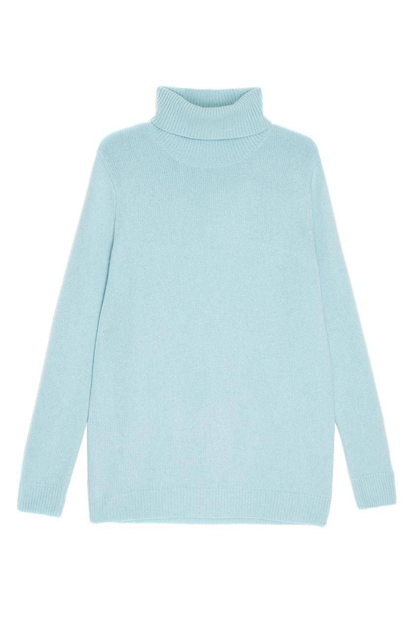 женский свитер addicted, голубой