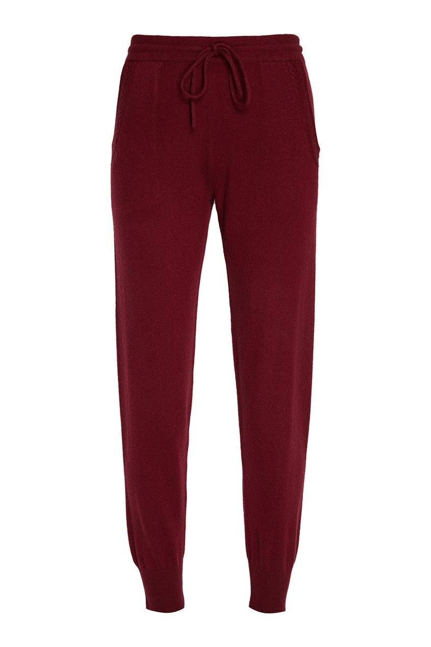 Бордовые брюки из кашемира Addicted