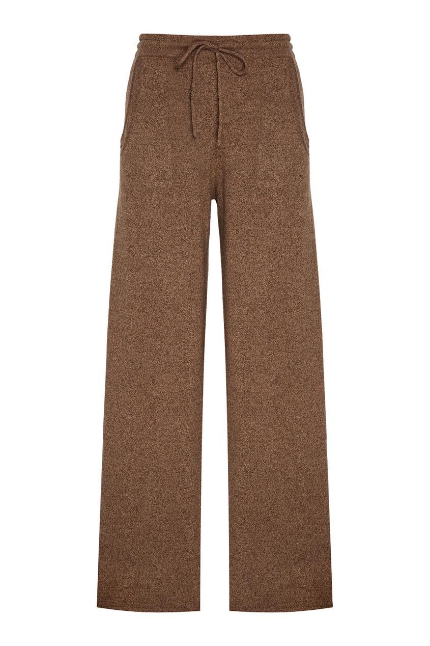 Addicted Бежевые брюки из кашемира addicted синие кашемировые брюки