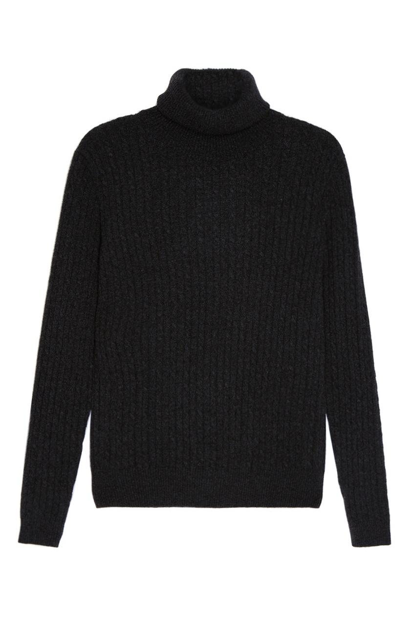 Темно-серый свитер из кашемира Addicted 173365801 серый фото