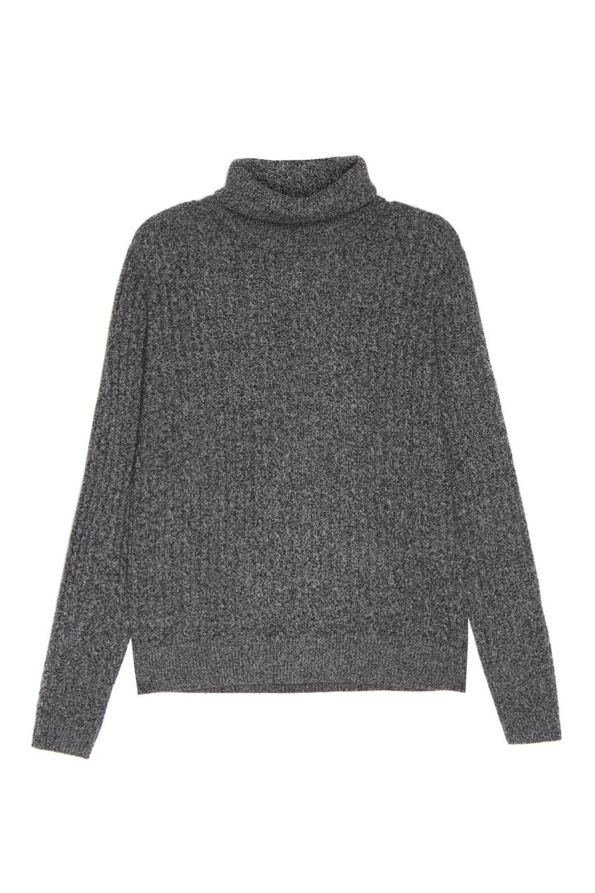 Серый кашемировый свитер