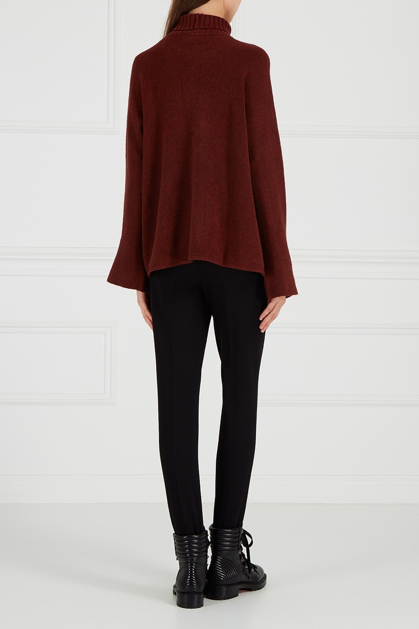 Черные брюки со штрипками