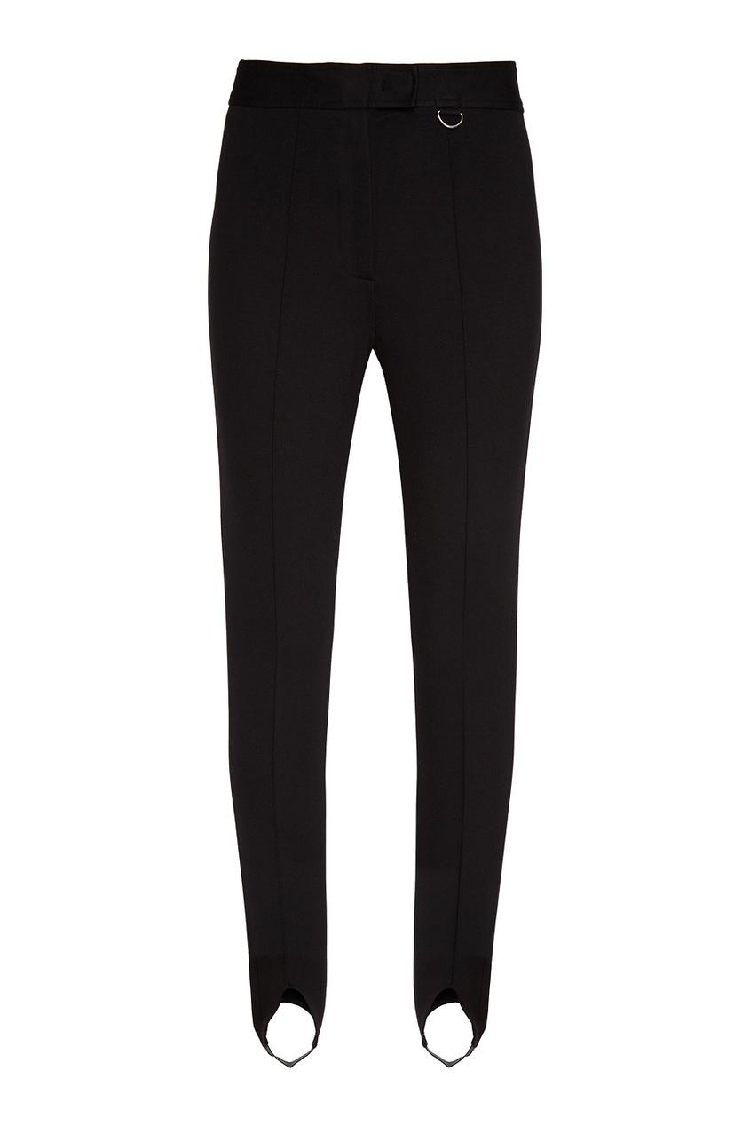 Adolfo Dominguez Черные брюки со штрипками theory черные брюки со штрипками