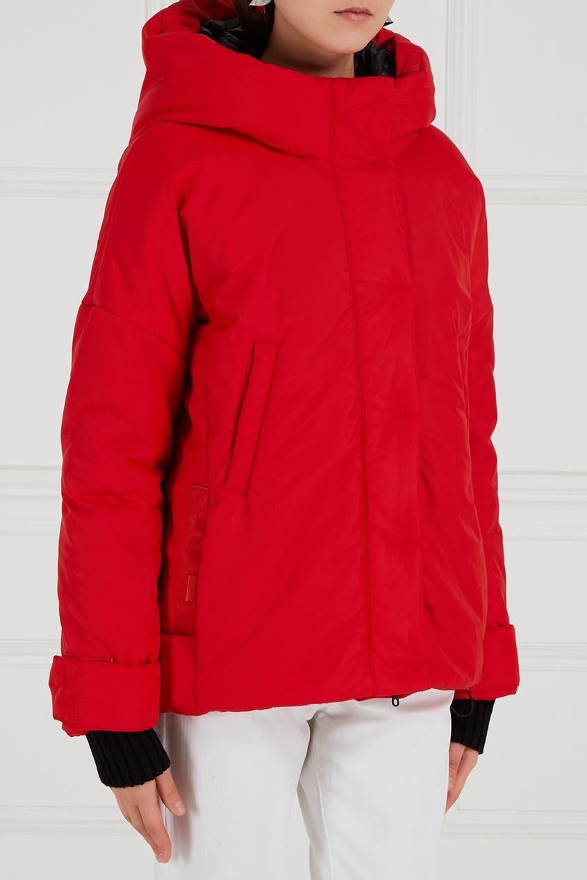 NOVAYA Утепленная куртка красная