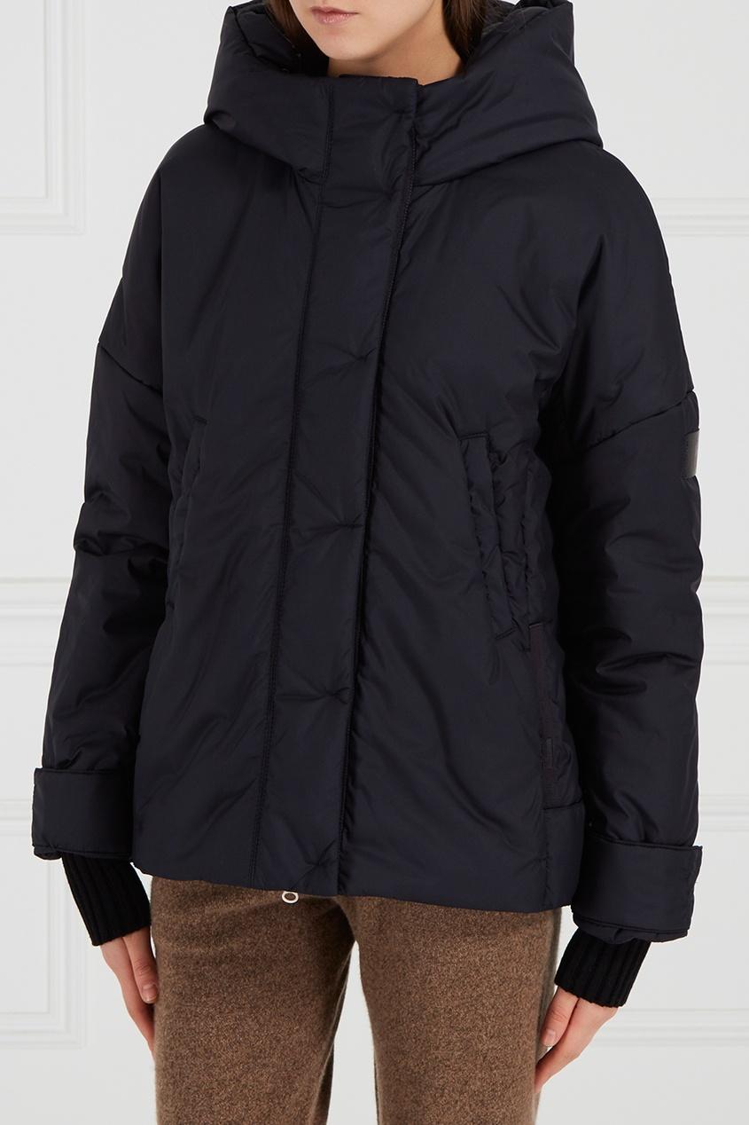 NOVAYA Утепленная куртка темно-синяя