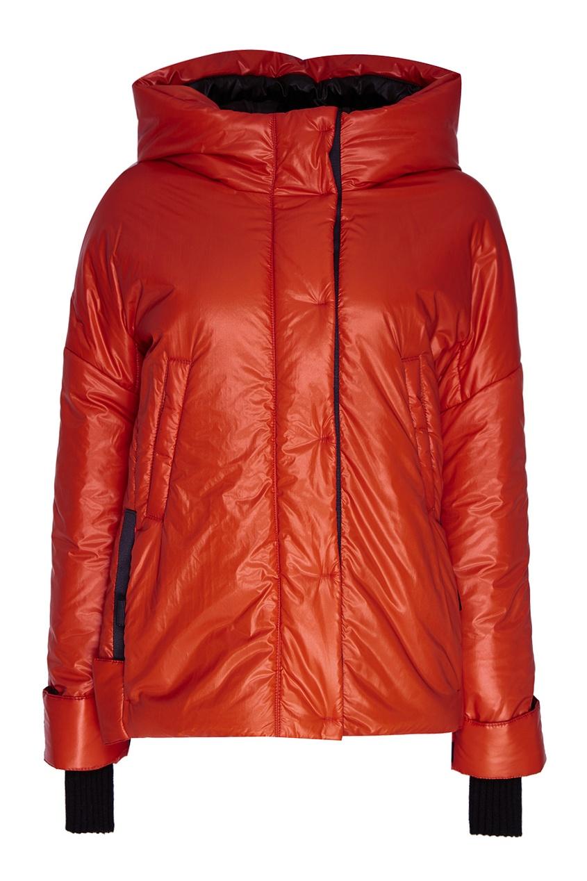 NOVAYA Утепленная куртка оранжевая