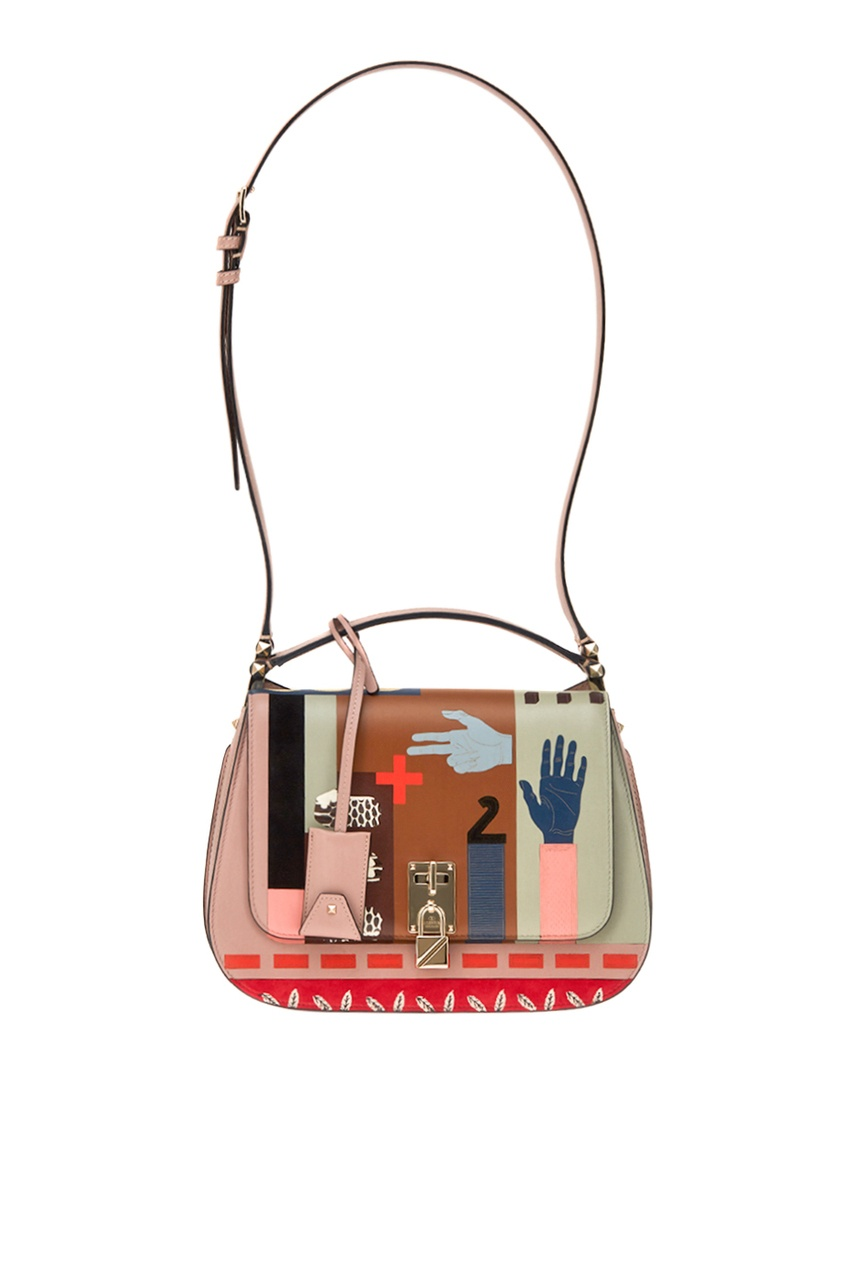 Valentino Сумка Joylock с абстрактным принтом сумка giovanni valentino mtp00131699 valentino c rockee