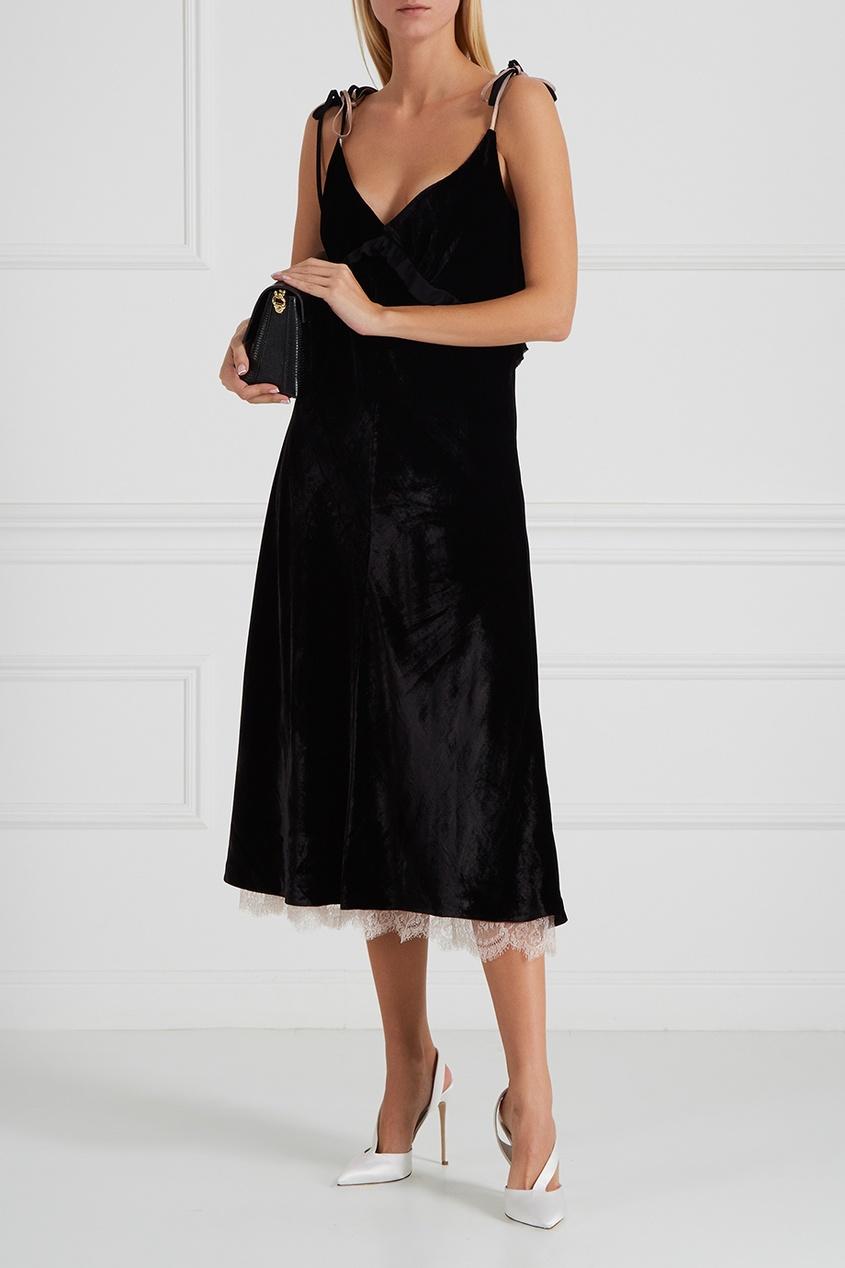 Graviteight Бархатное платье