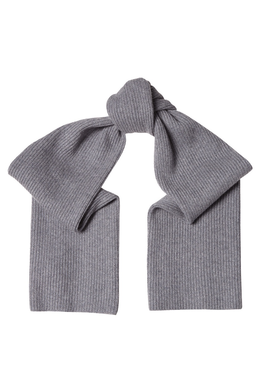Akhmadullina DREAMS Серый кашемировый шарф akhmadullina dreams серый кашемировый шарф