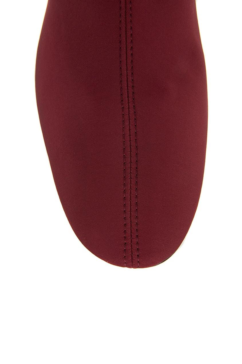 женские ботфорты rosbalet, красные