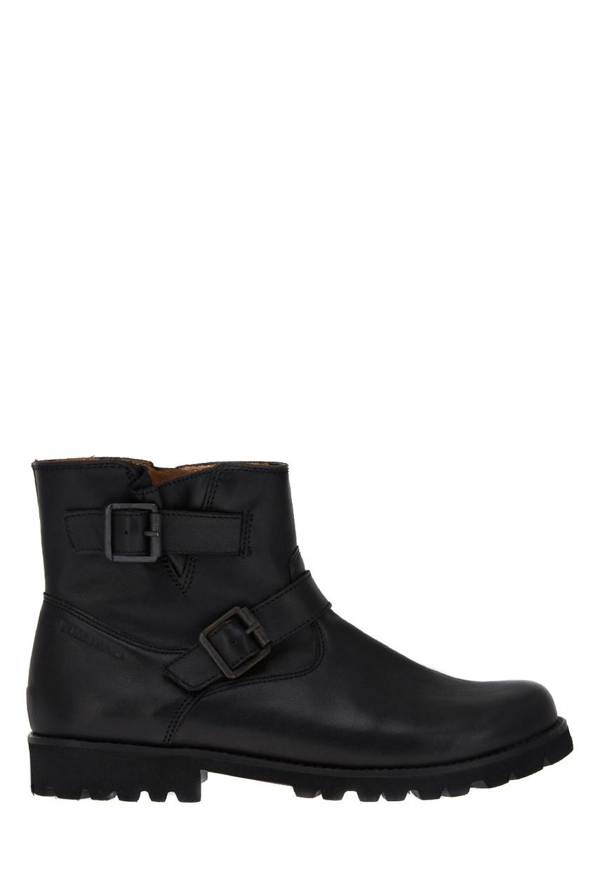 Pom D'Api Кожаные ботинки с ремешками ботинки кожаные с кисточками