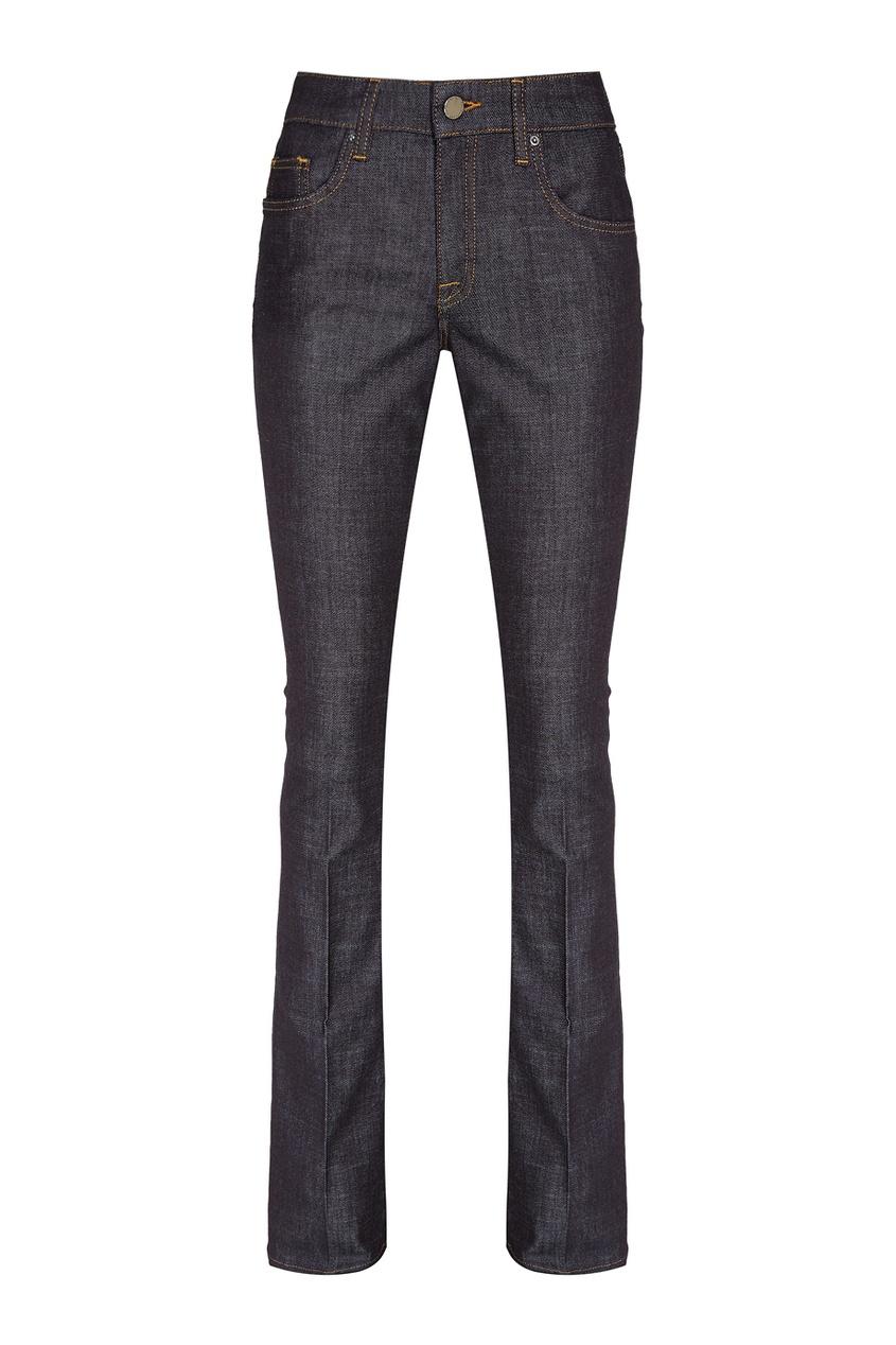 victoria beckham укороченные джинсы Victoria Beckham Темно-синие джинсы со стрелками