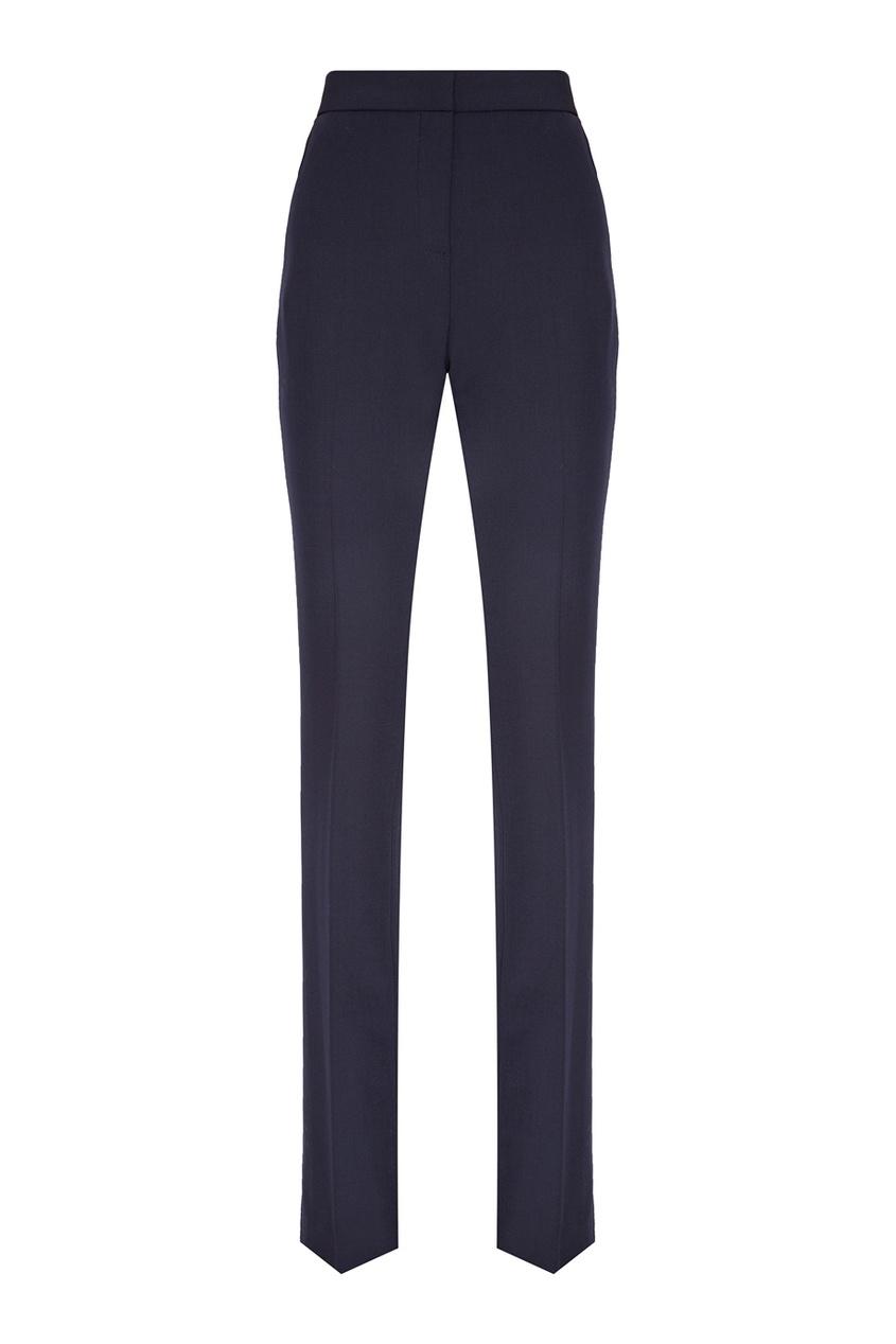 victoria beckham укороченные джинсы Victoria Beckham Синие расклешенные брюки