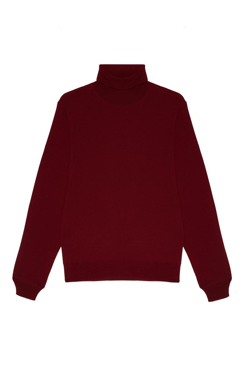 Canali Красный свитер из шерсти