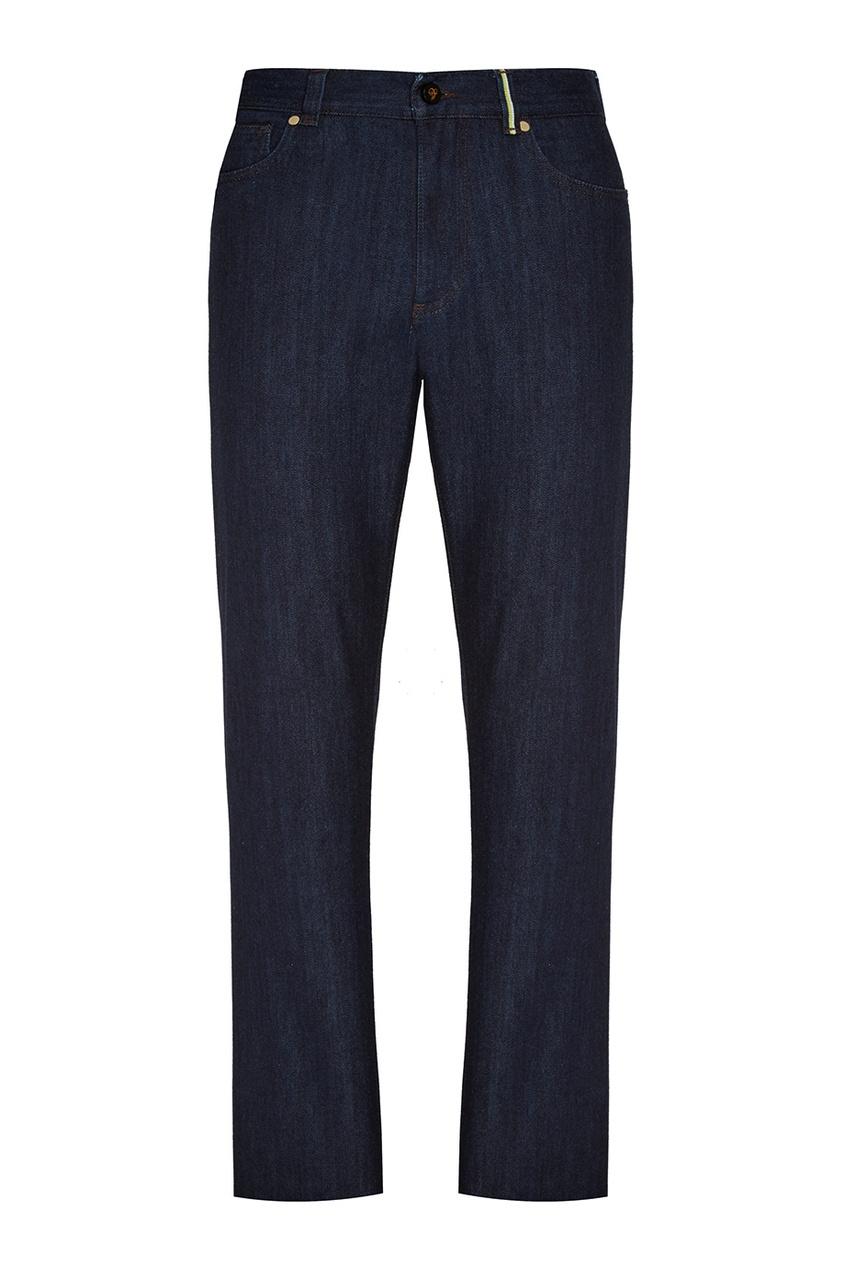 Купить Темно-синие джинсы от Canali синего цвета