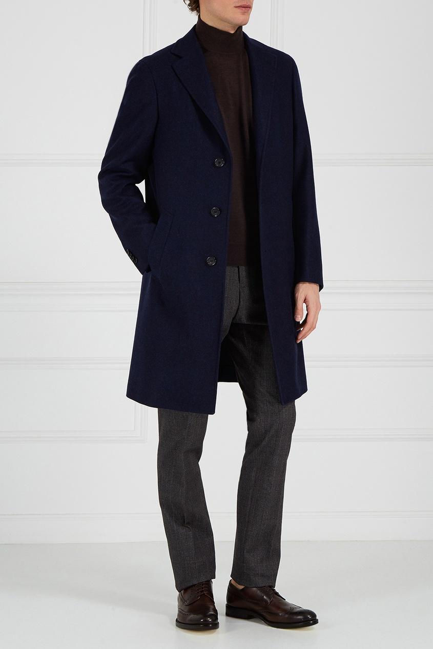 Canali Классическое синее пальто