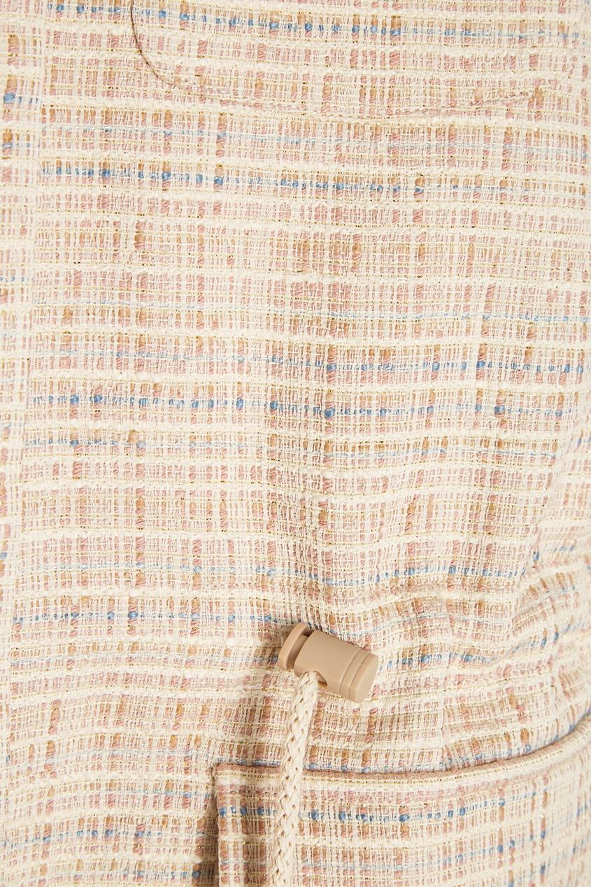 LAROOM Парка из хлопкового твида куртка из твида 3 12 лет