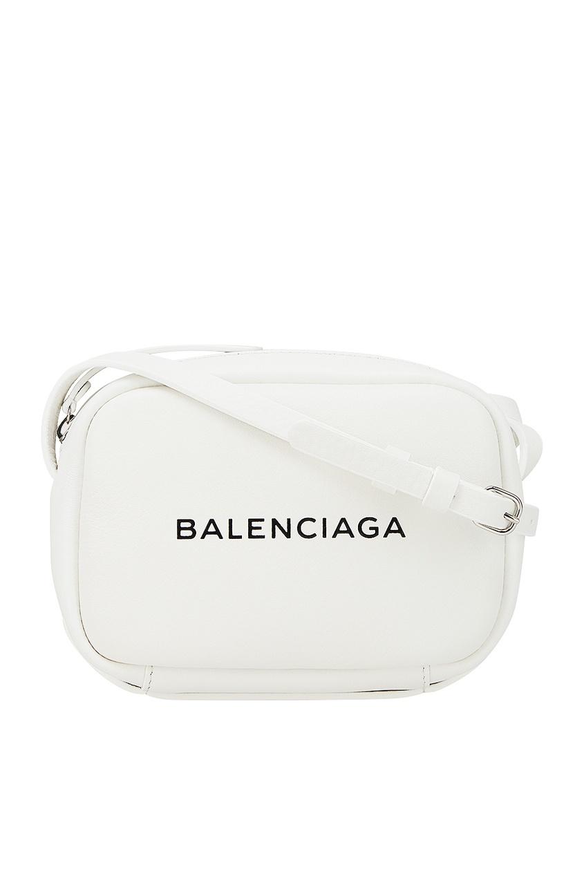 Balenciaga Кожаная сумка Every Day Camera XS balenciaga шерстяной пуловер