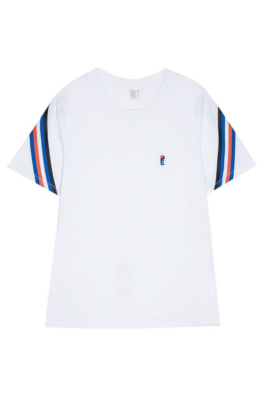 P.E Nation Хлопковая футболка с монограммой outfitters nation футболка