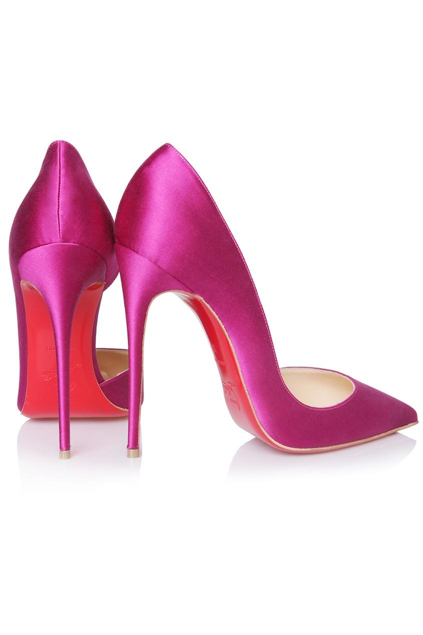 Сатиновые туфли Iriza 120